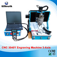 Newest CNC 3040Y 3Axis mini Router Engraver 800W Wood Metal Engraving Milling Machine