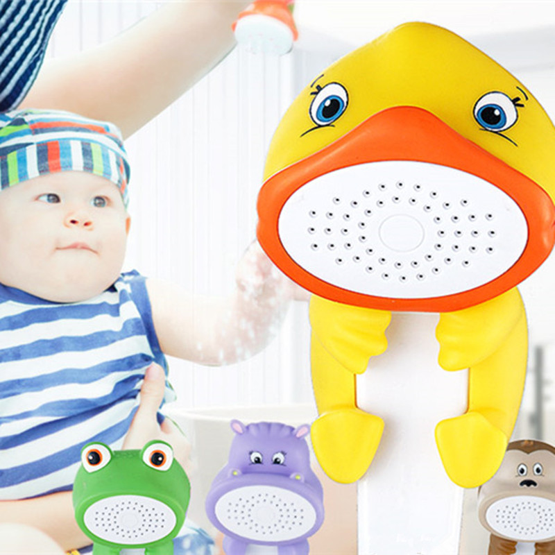 Lovely Cartoon Shower Children Show Heads ABS Animal Hand Child Bath Toy Baby In From Home Improvement On Aliexpress