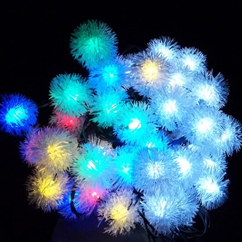 Chuzzle Ball Led Christmas Tree Light Solar Powered Fairy