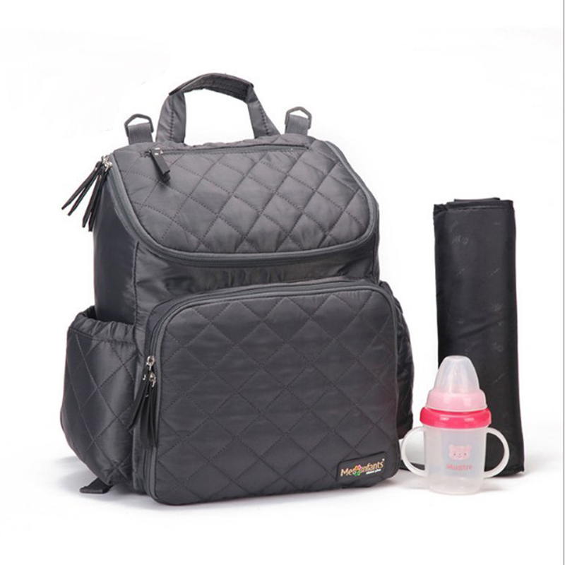 New Fashion Mummy Maternity Diaper Bag Baby Nappy Backpack Designer Nursing Bag For Baby Care Large Capacity Moms Diaper Bag