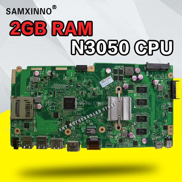 X540SA Motherboard N3150 N3050 N3060 CPU 2G RAM For ASUS X540SA X540S X540 F540S Laptop Motherboard X540SA Mainboard