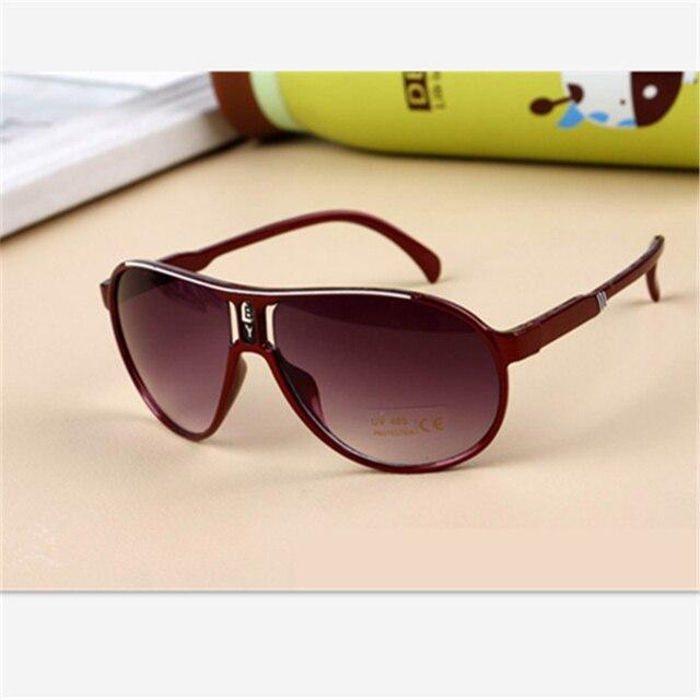 7d8cbf32bba 2018 New Fashion Children Sunglasses Boys Girls Kids Baby Child Sun Glasses  Goggles UV400 mirror glasses