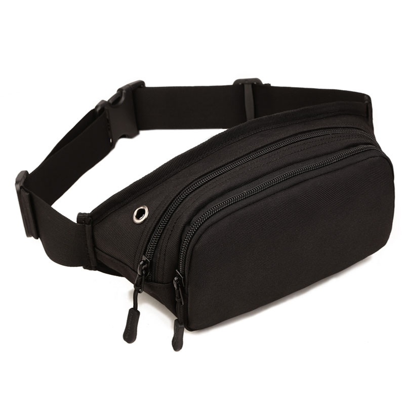 Men Waterproof 1000D Nylon Sling Chest Bag Fanny Pack Waist Bag Hip Bum Belt Cross Body Messenger Casual Shoulder Pouch Purse