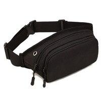 2016 Men Waterproof 1000D Nylon Sling Chest Fanny Pack Waist Bag Tactical Hip Bum Belt Messenger