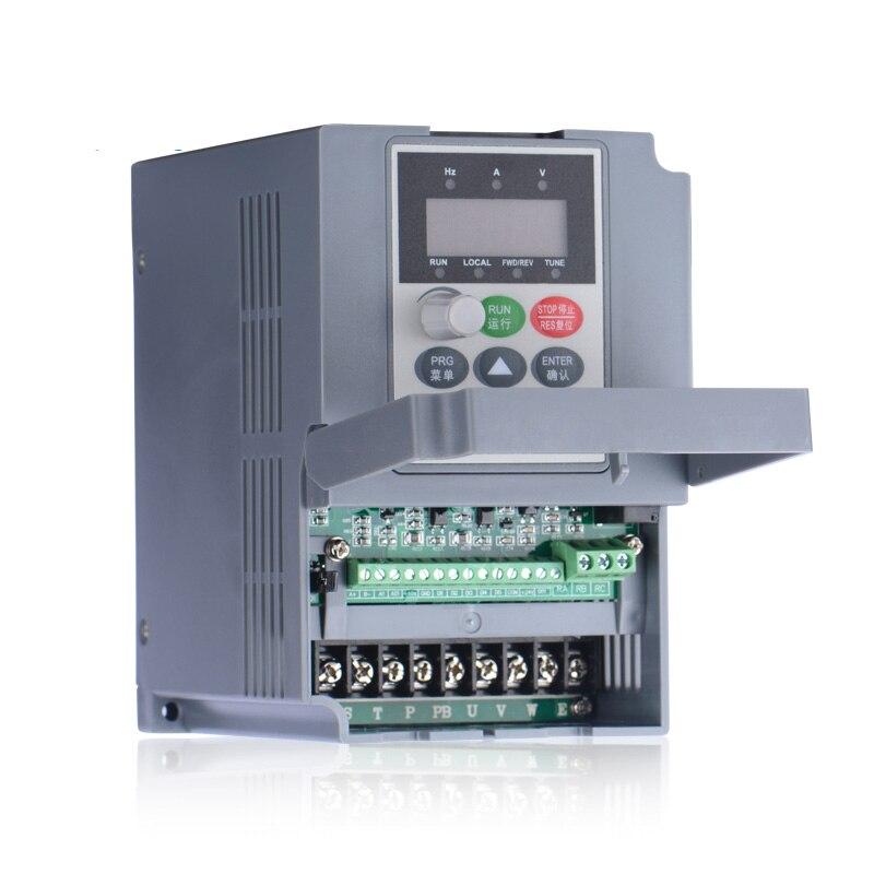 2.2Kw uniwersalny falownik 3hp 5.1A 3ph 380V 400Hz VC V/F sterowanie VFD do maszyn pakujących