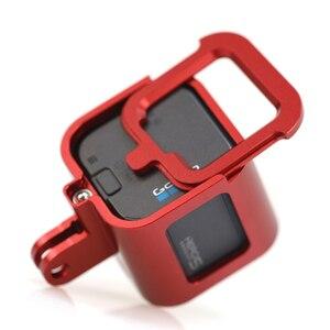Image 4 - אביזרי Gopro Hero מצלמה 4/5 מושב סגסוגת אלומיניום מקרה שיכון מסגרת מגן לpro גיבור עבור 4/5 מושב הר