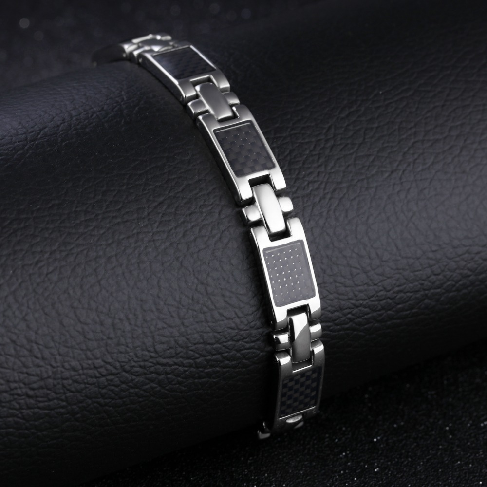 The jewelry wholesale new han edition fashion jewelry intersects a long time 316L bracelet GS3356