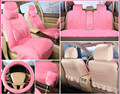 6pcs Imitation cashmere thicked anti-skid on the seat of the cars covers for car all seats set  faux fur warm heated