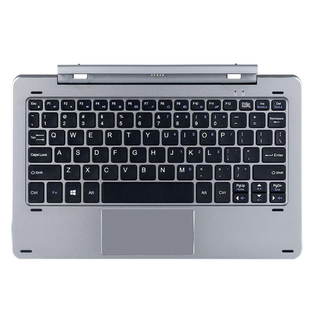 bilder für Chuwi Hi10 Pro/Hibook Pro Docking Tastatur Schlank Multi Modus Rotary Welle Tastatur Magnetische Docking Pogo Pin mit Touch Pannel