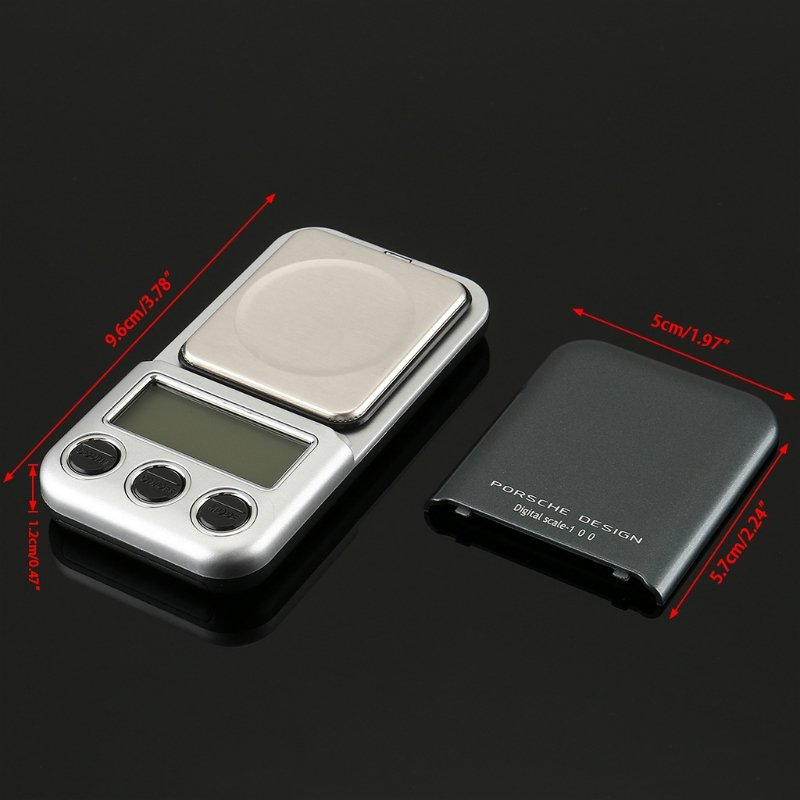 US $5 81 32% OFF|Digital Jewelry Scale 100/ 0 01 600/0 1 Gram Precision  Scale pocket Scale 'lirunzu-in Weighing Scales from Tools on Aliexpress com  |