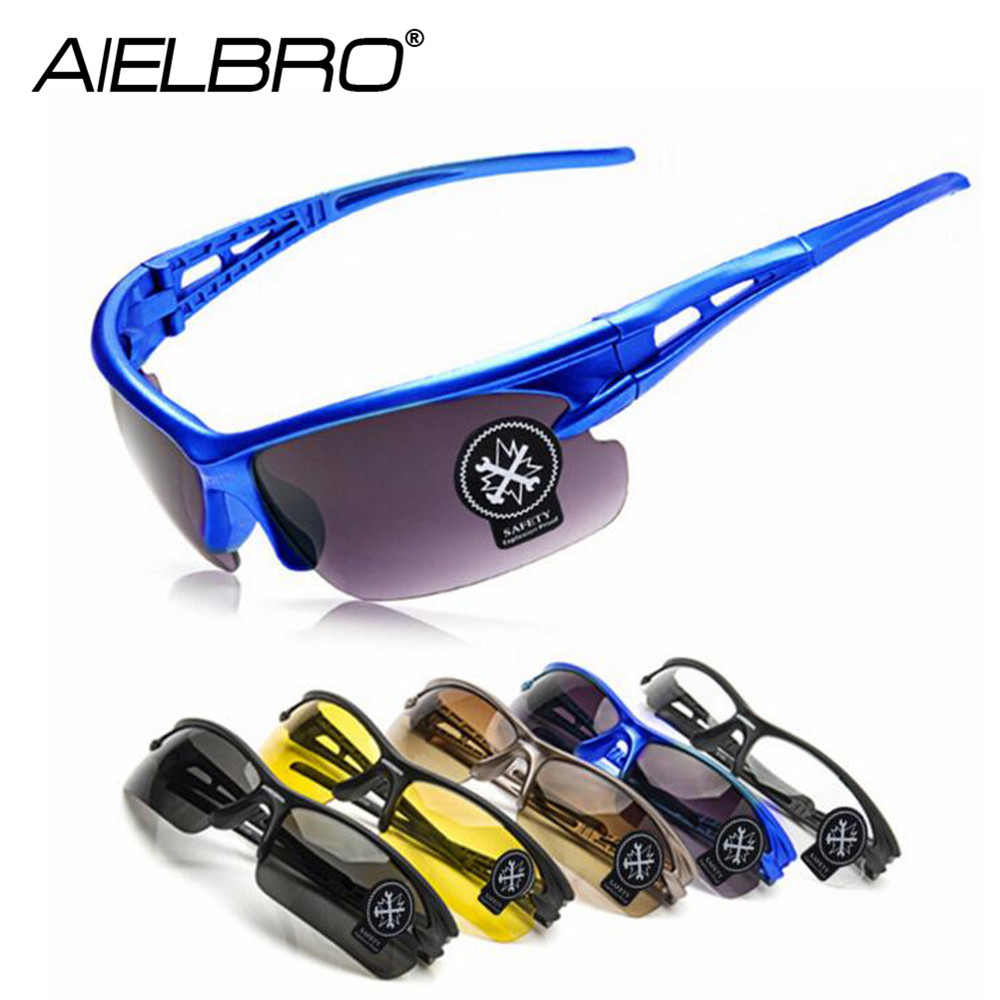 AIELBRO Motocycle UV Protective Hiking Eyewear Goggles Cycling Riding Running Sports Sunglasses New Arrival 2019