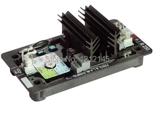 R250 AVR pour alternateur Leroy Somer, régulateur de tension d'alternateur R250