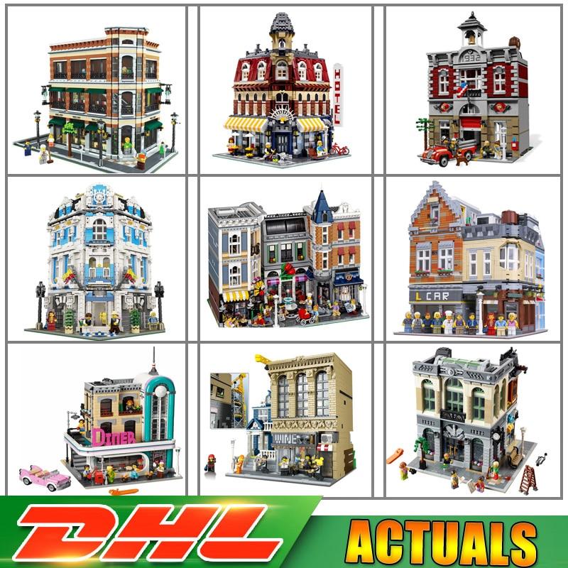 Lepin 15001 15001 15002 15003 15004 15005 15006 15007 15008 15009 15010 15011 15012 Brick Blocks Toys Compatible LegoINGlys конструктор lepin брик банк 2413 дет 15001