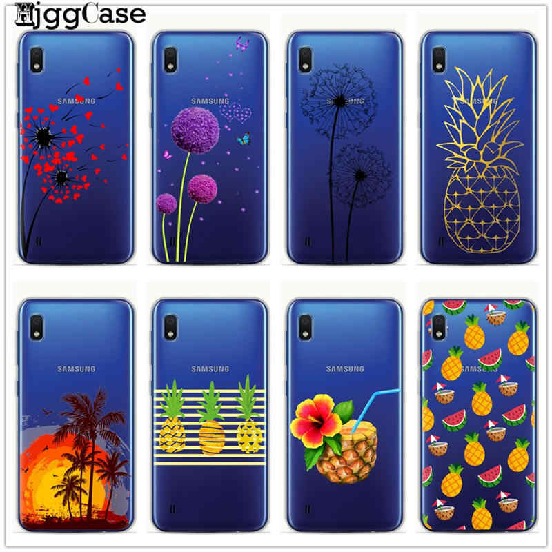 Cute cartoon plant fruit Phone Case For Samsung Galaxy A10 A20 A30 A50 A70 A6 A8 A7 A9 2018 S10 S8 S9 Plus TPU Soft Cover Cases