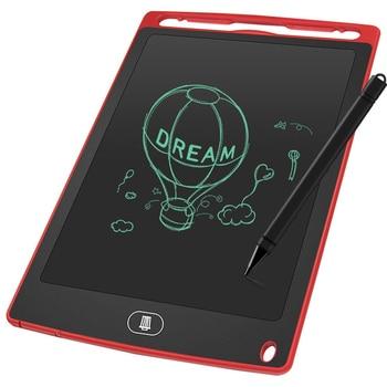 Mini kurulu elektronik yazı tahtası 8.5 inç kız erkek LCD Tablet manyetik kara tahta dijital bülteni yazı tahtası Flip Chart