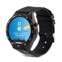 Original kw88 Android 5.1 Smart Watch 512MB + 4GB Bluetooth 4.0 WIFI 3G Smartwatch Phone Wristwatch Support Google Voice GPS Map
