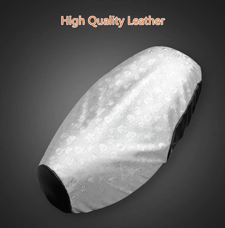 solar confortável capa de almofada moto