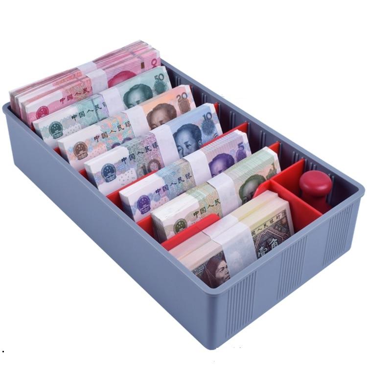 mudança com 5 9 compartimentos para moedas de notas com bandeja da conta
