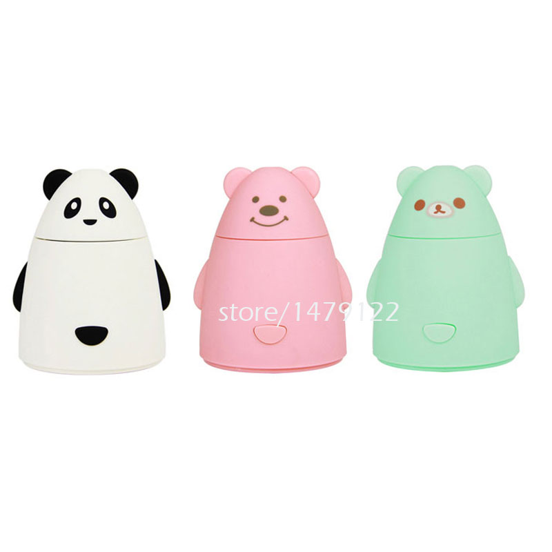 Mini Aroma Diffuser Aromatherapy Air Purifier LED USB Cartoon Panda Humidifier aromatherapy aroma mix