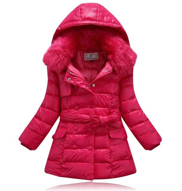 3a9fefd6c367 winter baby snowsuit baby girl fur collar winter coat kids winter coat  children gilrs winter warm down coat jacket for girls