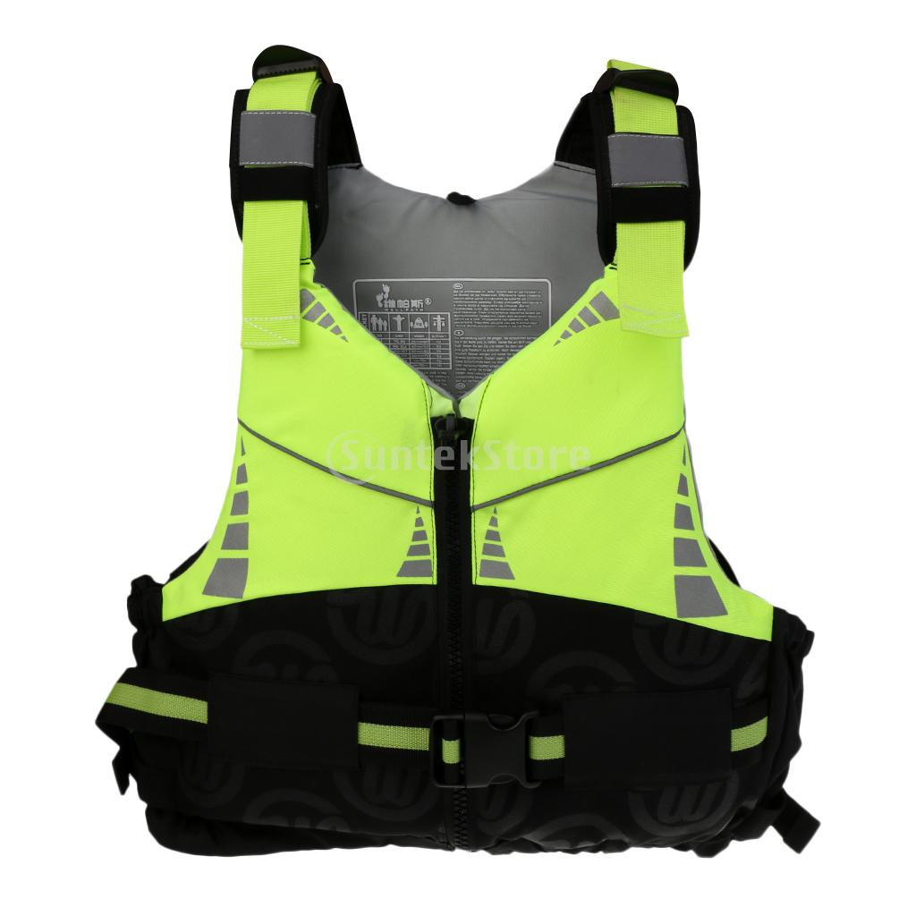 Unisex Adult Professional Kayak Canoe Boat Sailing Swimming Wakeboard Paddleboard Fishing Jet Ski Buoyancy Aid Vest