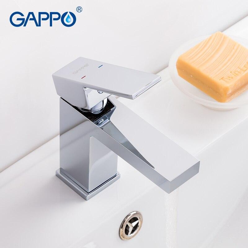 GAPPO Bassin robinet bassin mitigeur salle de bains robinet d'eau en laiton évier mélangeur pont monté mitigeur robinet