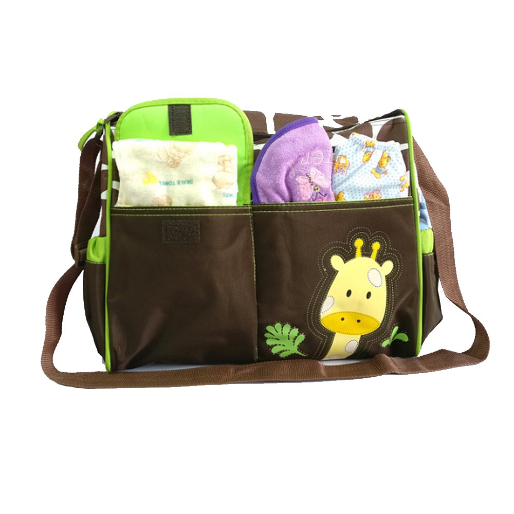 Multi Function Large Capacity Fashion Baby Diaper Changing Bags For Mom Handbags For Moms Totes Baby Bags Kids Mom