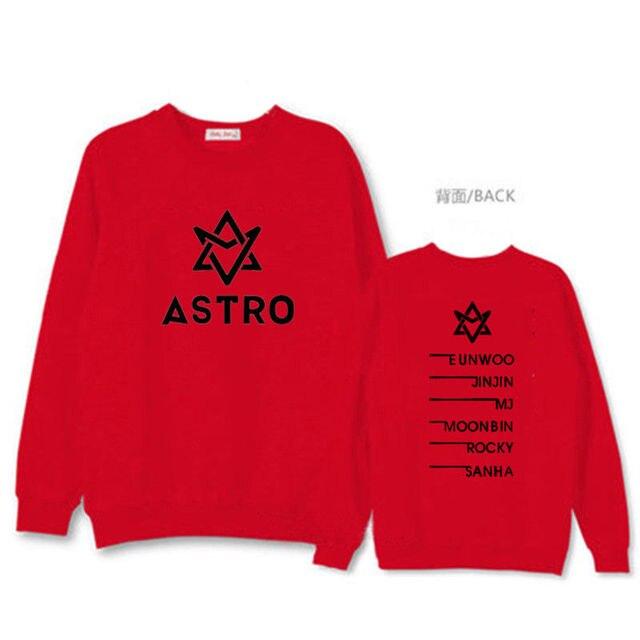 Visualizzza di più. Allkpoper kpop astro felpe lettera stampa sweatershirt  coppia hoodie harajuku coreana tuta eunwoo ponticello jinjin mj 2c2a4ef9a591