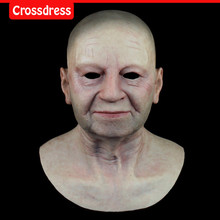 SF-N6 silicone true people mask  costume mask human face mask silicone dropshipping