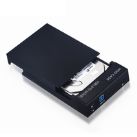 New USB 3.0 Hard Drive Disk External Enclosure Case for 2.5 /3.5 inch SATA HDD SSD QJY99