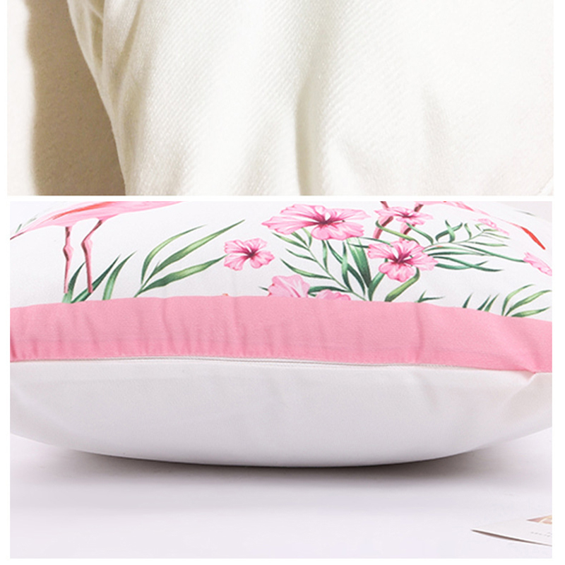 Letter Love Home Cushion cover Cotton linen Black White pillow cover Sofa bed Nordic decorative pillowcase 45x45cm almofadas in Cushion Cover from Home Garden