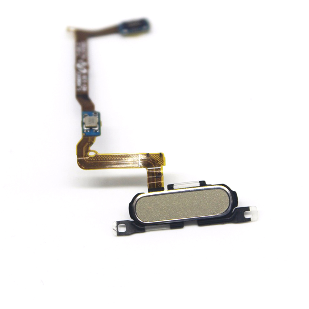 Original G850F Home Button With Flex Cable Repair Part For Samsung Galaxy Alpha S5 Mini SM-G850F Gold/White/Black Can Choose