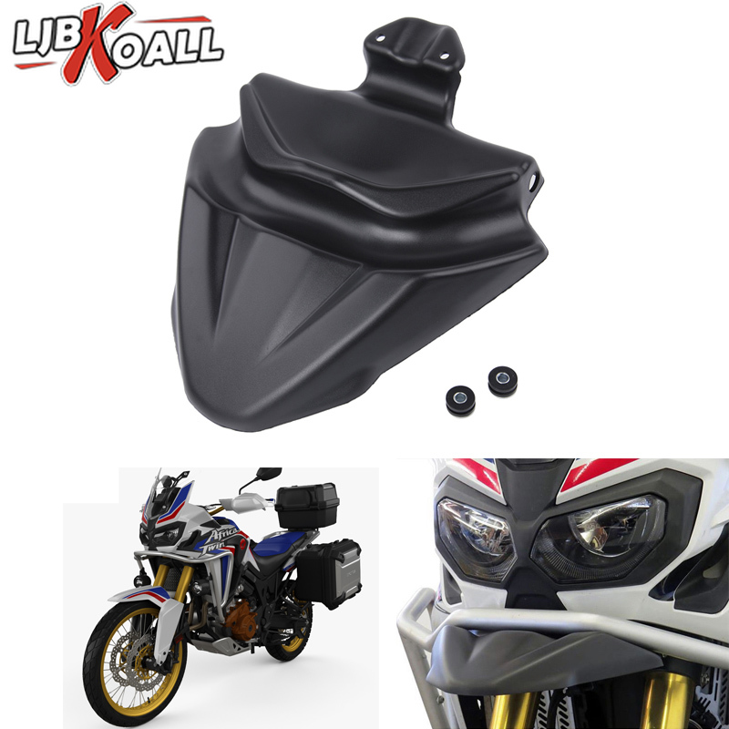 Motorcycle Parts ABS Plastic Front Nose Fairing Beak Cowl Protector Fender For HONDA CRF1000L Africa Twin