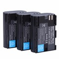 3Pcs Full coded LP-E6 LPE6 2650mAh Battery Batteria For Canon 5D Mark II III and IV 70D 5Ds 6D 5Ds 80D 7D 60D 5Ds R DSLR Camera