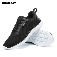 KOKOCAT 2018 New Design Men Safety Shoes Lightweight Breathable Casual Footwear Flexible Sports Shoes