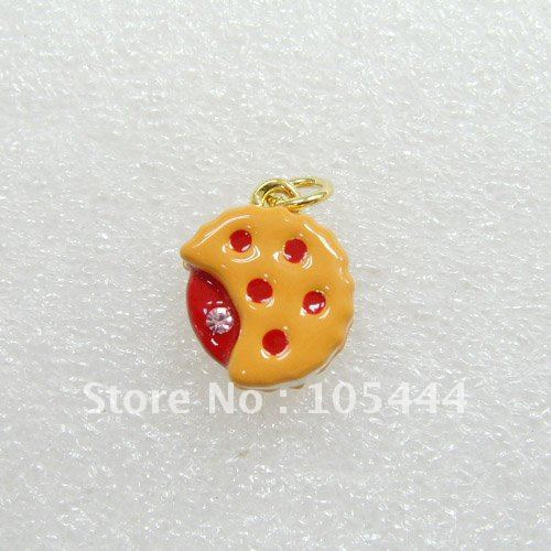 free shipping 16322 cookies charm for necklace bracelet phone charm