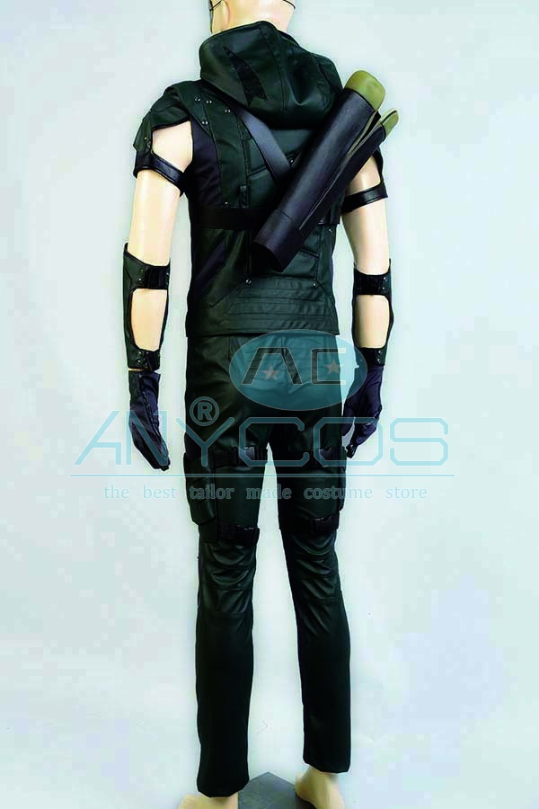 The Green Arrow Oliver Queen Uniforme Adultos pantalones superiores - Disfraces - foto 3