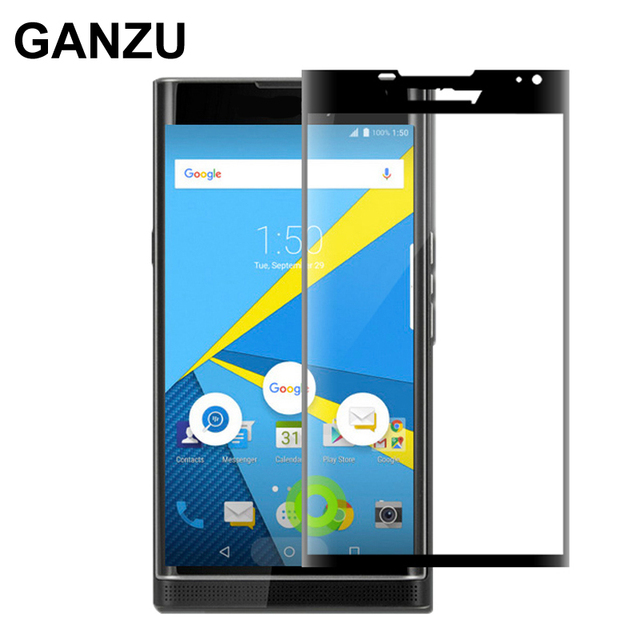 3D Full Curved Tempered Glass Screen Protector For Blackberry Priv High Quality Ultra-thin HD Tempered Glass Film for Blackberry