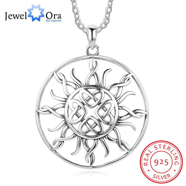 Sunflower 25mm large pendant necklace jewelry 925 sterling silver sunflower 25mm large pendant necklace jewelry 925 sterling silver necklaces pendants for women fashion gift mozeypictures Image collections