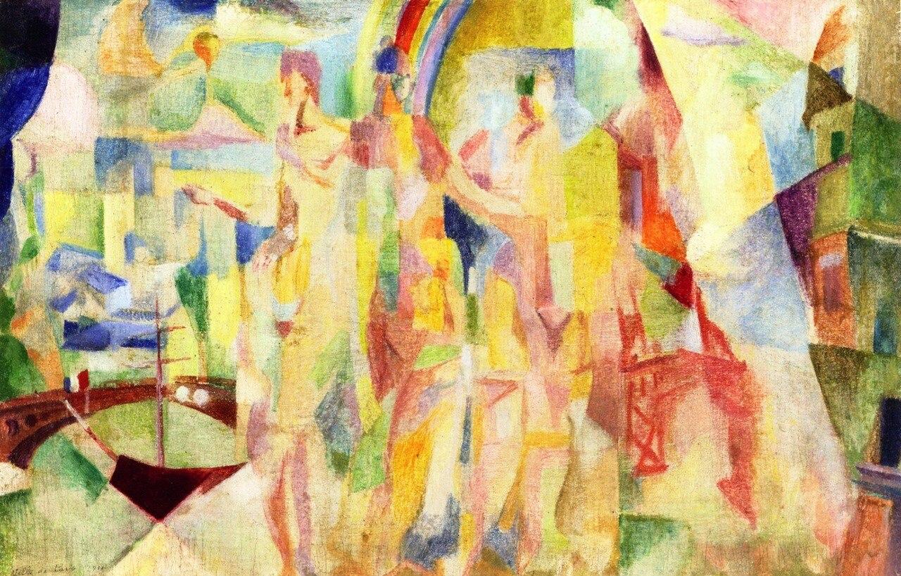 La Ville de Paris (estudio) Robert Delaunay Sin Marco en Pintura y ...