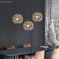 Modern crystal Pendant Lights Nordic Dining Room Kitchen/bedroom Light Designer Hanging Lamps Avize Lustre Lighting led lamps