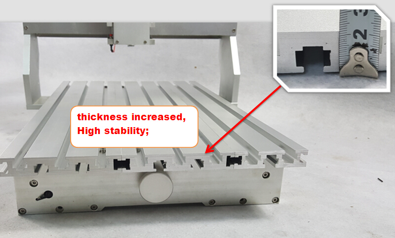 Buy diy cnc router frame for assemble new for Best router motor for cnc