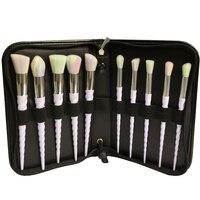 BBL 10pcs Bag Rainbow Professional Makeup Brushes Set Face Powder Foundation Eyeshadow Contour Brush Gradient Color