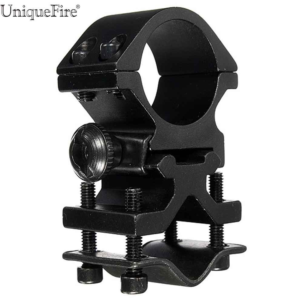 UniqueFire QQ07 Mount Hunting Sports Rifle Universal Mount Adapter For Flashlight Laser Torch Sight Scope 1 Inch universal mount adapter cycling bicycle handlebar mount clamp holder aluminum alloy flashlight laser torch sight scope clamps