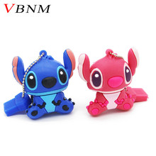 VBNM Stitch USB flash drives 8GB 16GB 32GB Pen drives 8G flash card External storage cartoon usb flash drive The best gift(China)