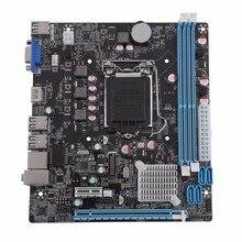 H61 Desktop Computer Mainboard Motherboard 1155 Pin CPU Schnittstelle Upgrade USB2.0 DDR3 1600/1333 2 X DDR3 dimm-steckplätze
