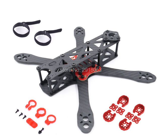 Alien FPV quadcopter frame 225 225mm carbon fiber DIY cross racing ...