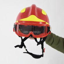 ПРОДАТЬ КАК НАБОР (Свободные Очки + Сильный Свет Фонарика) Высокое Качество F2, пожаротушения, спасательных Легкий вес огонь Шлем спасения