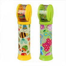 High Quality Rotating Kaleidoscopes Colorful World Preschool Toys Style Random Best Kids Gifts Children Educational Science Toy