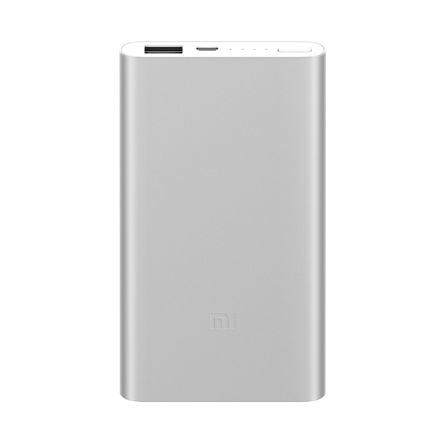Banco de energía de España Xiaomi LED 5000 mAh banco de energía USB bateria externa cargador portati poverbank para iPhone mi teléfono móvil